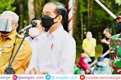 Tinjau Vaksinasi di Sultra, Presiden Jokowi Ajak Pemerintah Daerah Dukung Satu Juta Vaksin Per Hari