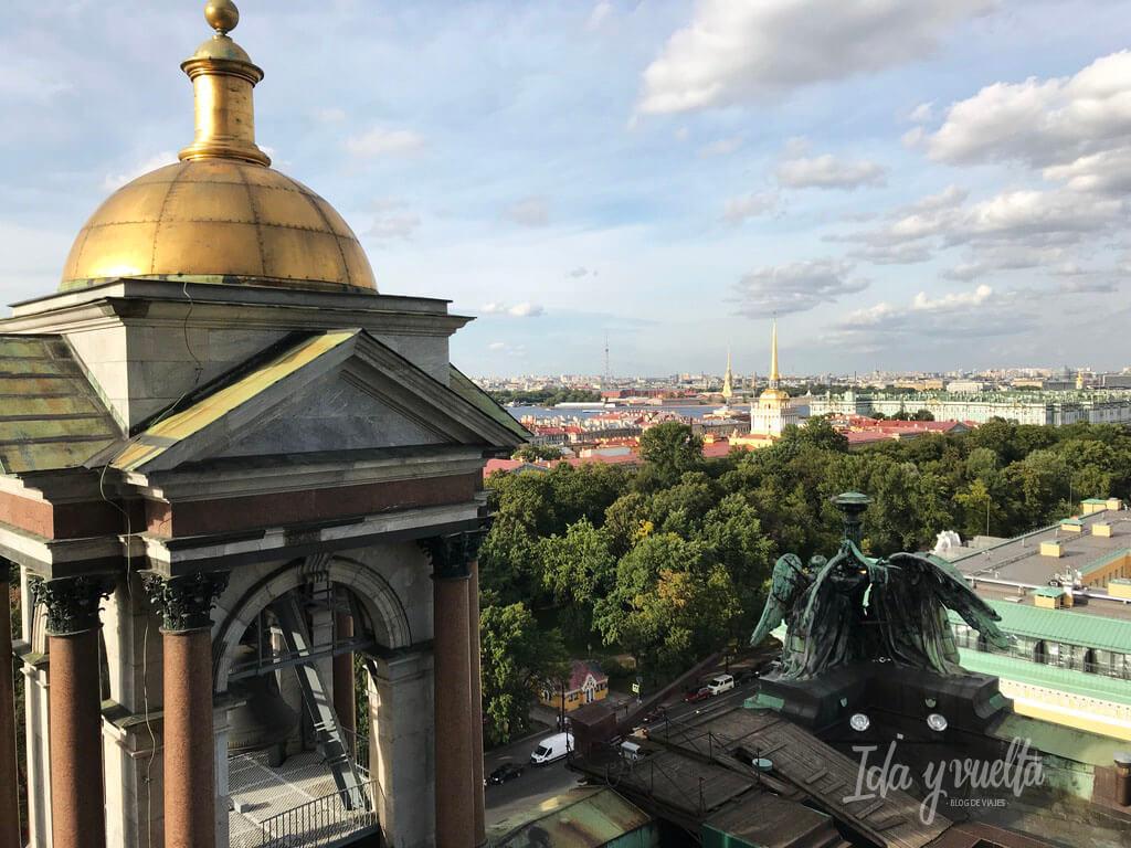 Catedral San Isaac San Petersburgo subida