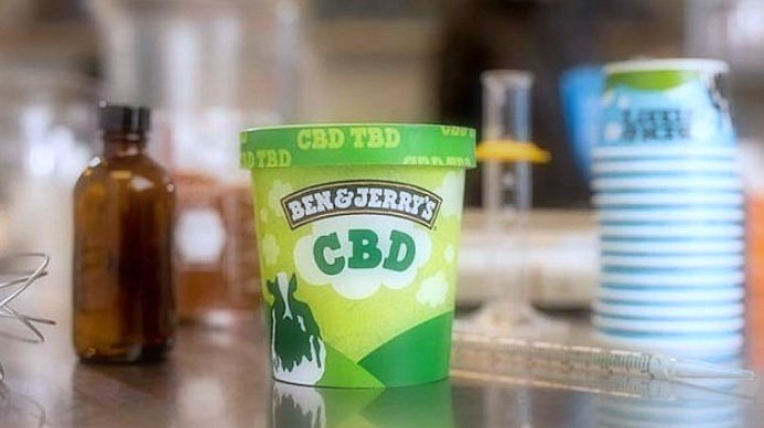 Ben & Jerry's wants to make ice cream with CBD infusion, once it's legal