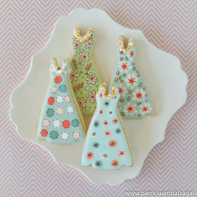 haute couture cookies
