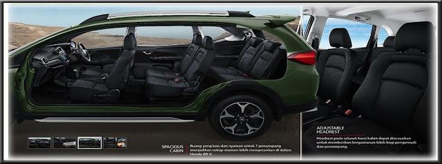 Honda BR-V S Interior
