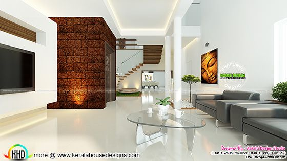 Contemporary style Living interior