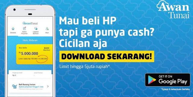 Aplikasi Pinjaman Uang Android, Awan Tunai
