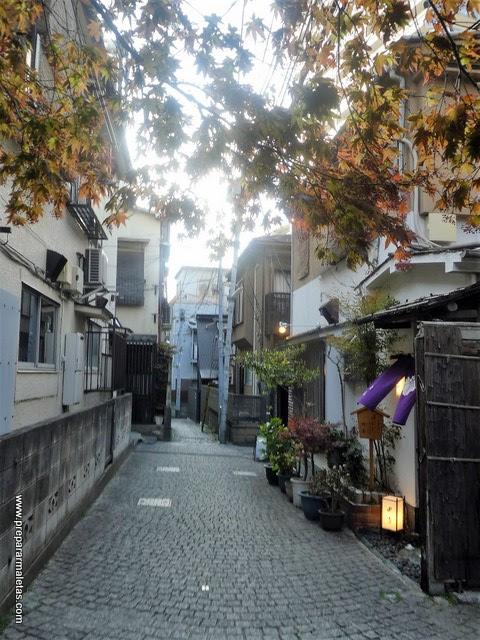 barrios desconocidos de Tokio