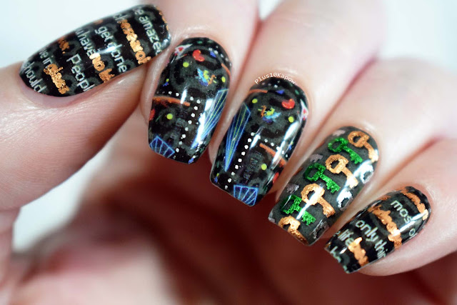 Espionage Cosmetics Oasis Ready Player One nerdy nails