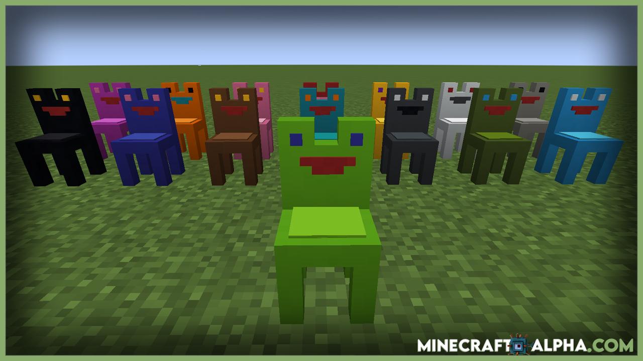 Exline's Furniture Mod For 1.17.1 (Exline's Decoration)