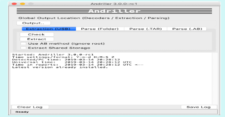 Andriller : Software Utility With A Collection Of Forensic Tools For Smartphones