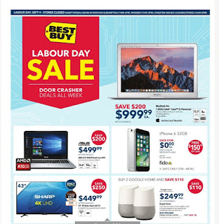 Best Buy Flyer  Weekly - Labour Day Sale valid September 1 -7, 2017