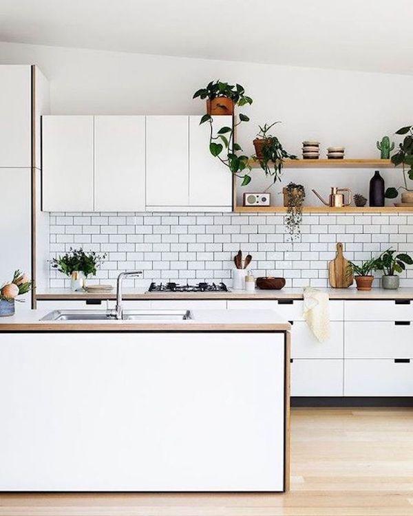kuchnia, skandynawska, biała, white, mała, sweden