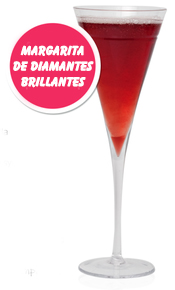 Cocktail Afrodisíaco: Margarita de diamantes brillantes