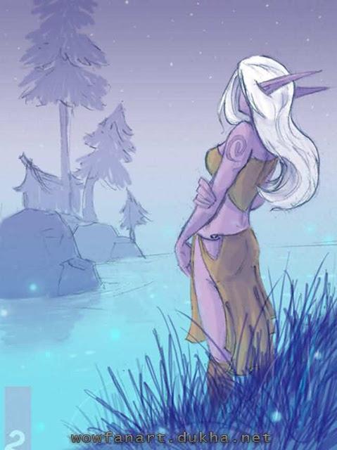 Ночная эльфийка отшельница
