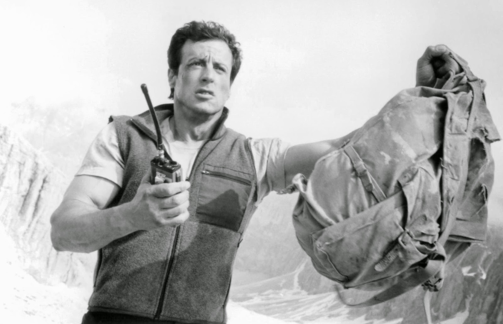Cliffhanger Sylvester Stallone mountain climbing action movie
