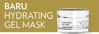 YOUTH Hydrating Gel Mask untuk kulit kering
