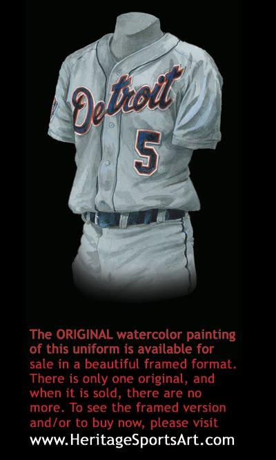 best service b0694 504d9 Detroit Tigers Uniform and Team History   Heritage Uniforms ...