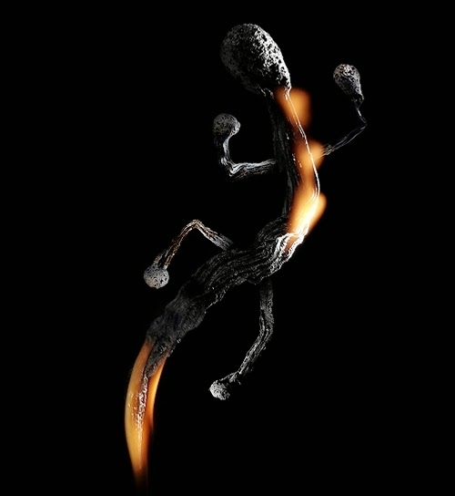 11-Match-Lizard-Flame-Russian-Photographer-Illustrator-Stanislav-Aristov-PolTergejst-www-designstack-co