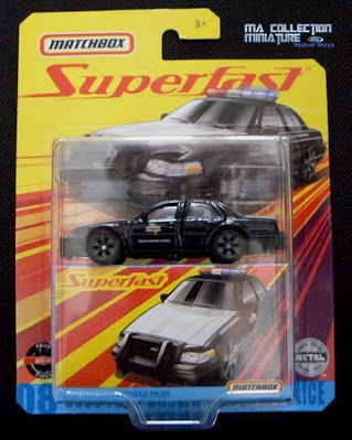 """MatchBox, Superfast, 2006 Ford Crown Victoria """"Police"""""""
