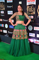Nandita Swetha in a tight Green Choli Ghagra at IIFA Utsavam Awards March 2017 ~ 040.JPG