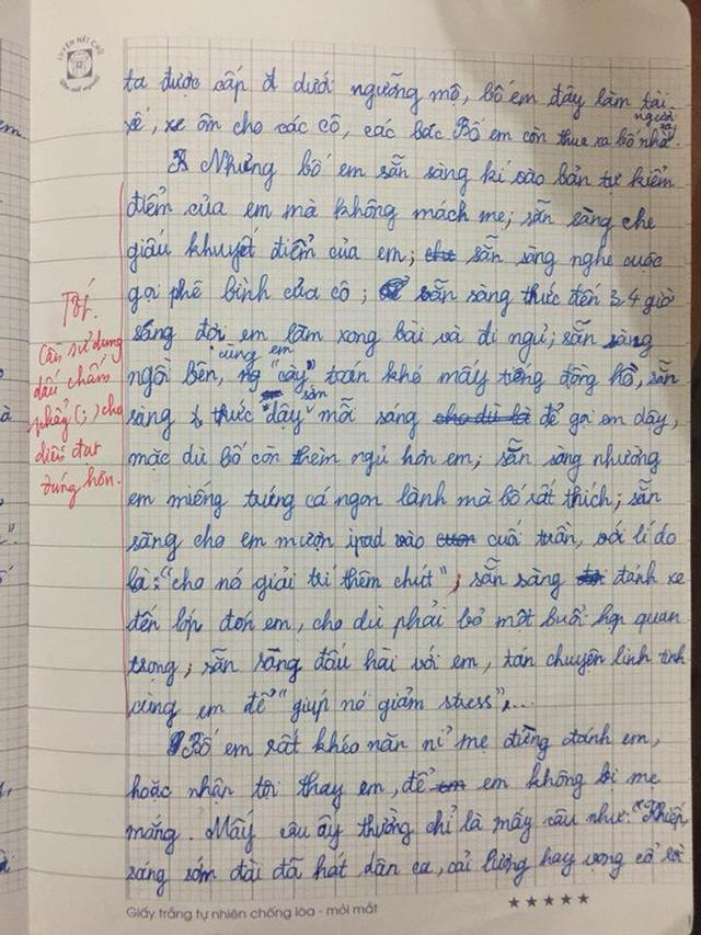 Phanblogs Bài văn tả bố của cô bé lớp 5: