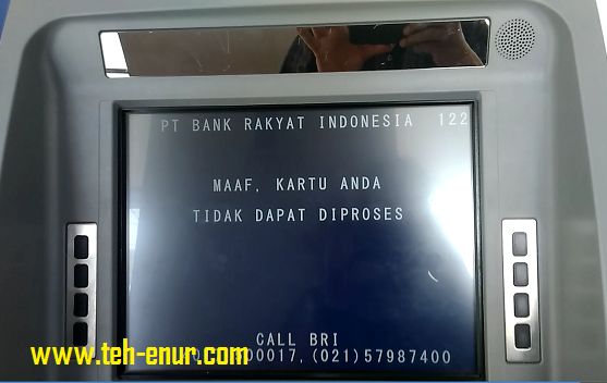 anjungan tunai mandiri (ATM) BRI