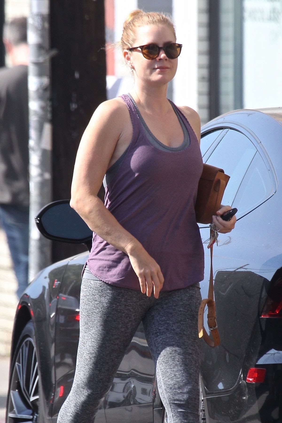 Amy Adams in Hollywood: Pilates Princess Amy Adams