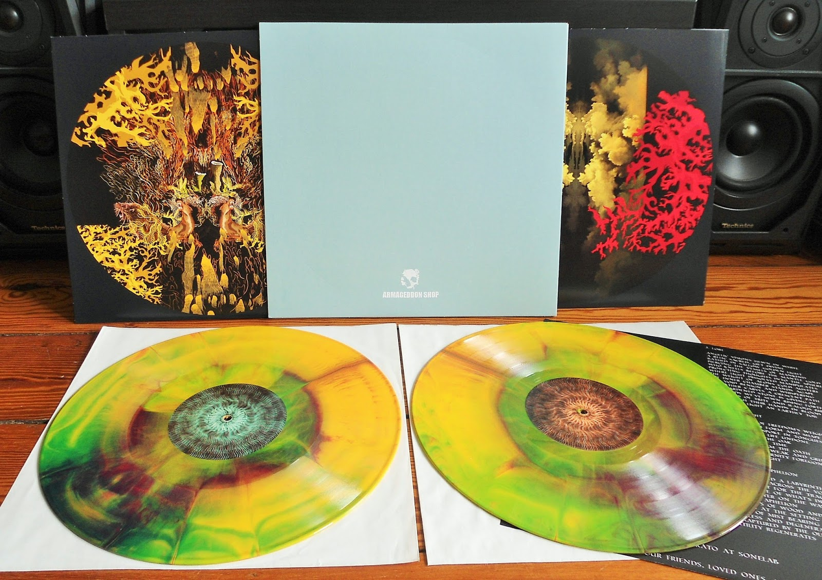 Hardcore Metal Vinyl Elder Lore Armageddon Pressing