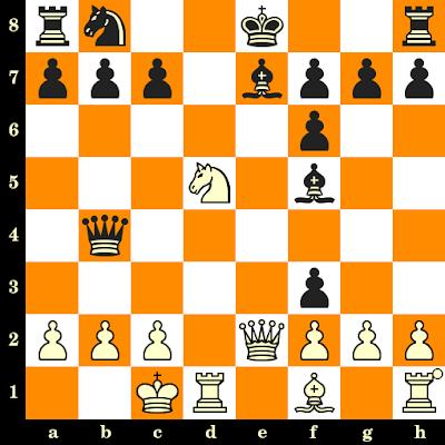 Les Blancs jouent et matent en 3 coups - David Gedult vs Tisserand, Vittel, 1974