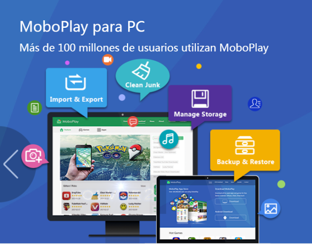 MoboPlay Suite Android para PC 2018