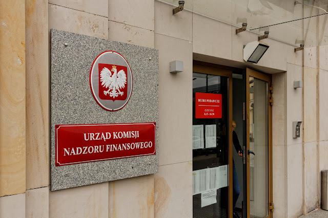 Siedziba Urzędu Komisji Nadzoru Finansowego w Warszawie