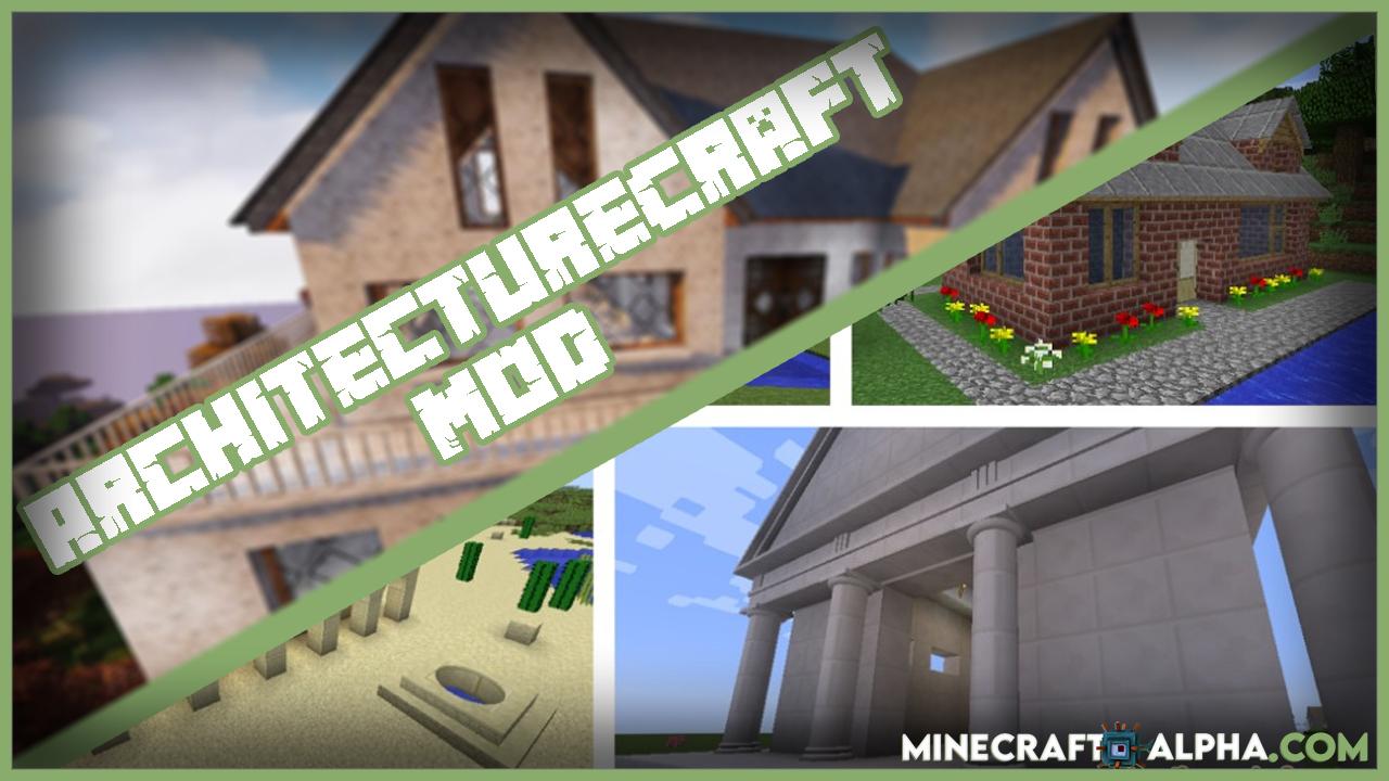 Minecraft ArchitectureCraft Mod 1.17.1/1.12.2 (Bringing the Circle to Minecraft)