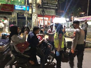 Polres Pelabuhan Makassar Terus Edukasi Masyarakat Tentang Protokol Kesehatan