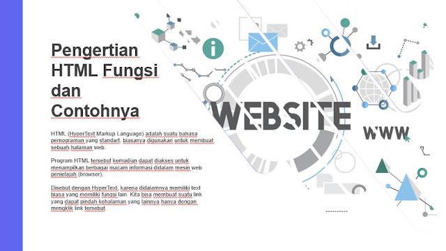 Pengertian HTML Fungsi dan Contohnya