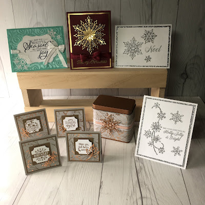 Products from the limited-time Snowflake Showcase suite, available to customers November 1, 2018
