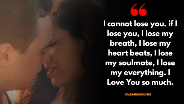 Love Quotes for Him Wishes