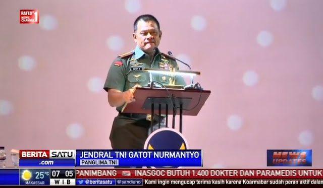 """KONTROVERSI"" Pidato Panglima TNI di Nasdem"