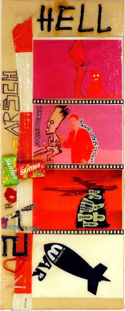 Kris Kind 2009, Hell, 100 x 35cm