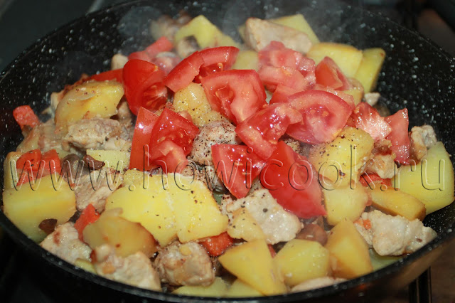 рецепт жаркого по-крестьянски с пошаговыми фото