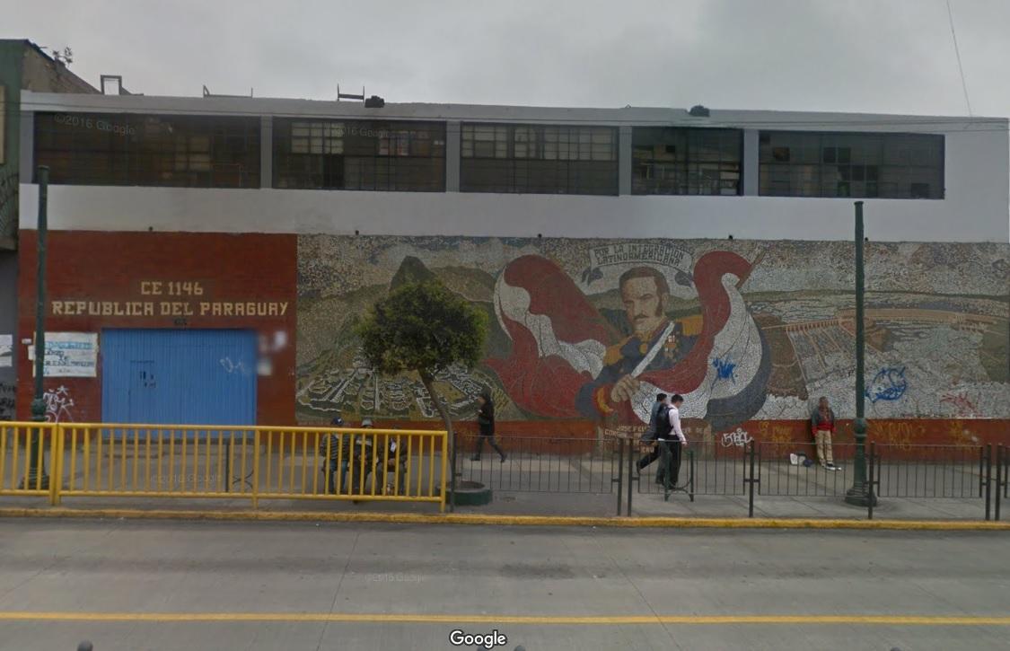 Escuela 1146 REPUBLICA DEL PARAGUAY - Lima Cercado