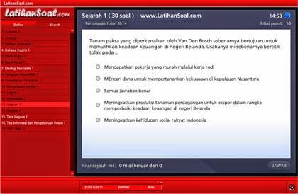 Aplikasi Software CAT CPNS untuk tes Wawasan kebangsaan Sejarah