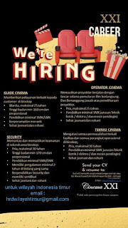 Lowongan Kerja di Cinema XXI Makassar