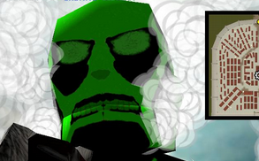 Green Colossal Titan Skin - Colossal Witch Green Burn Attack On Titan Tribute Game