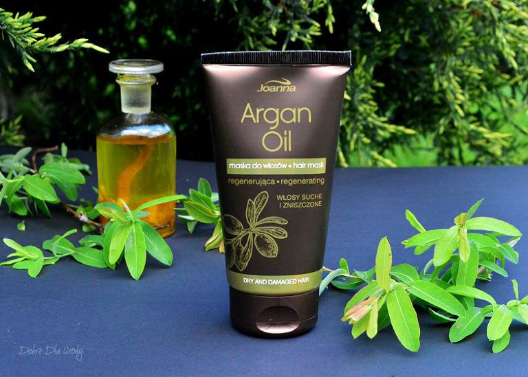 Joanna Argan Oil - pielęgnacja włosów suchych i zniszczonych