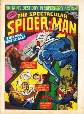 Spectacular Spider-Man Weekly #372, the Punisher