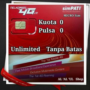 Jual Kartu Telkomsel 4G-LTE lnternet Tahunan KU0TA O PULSA
