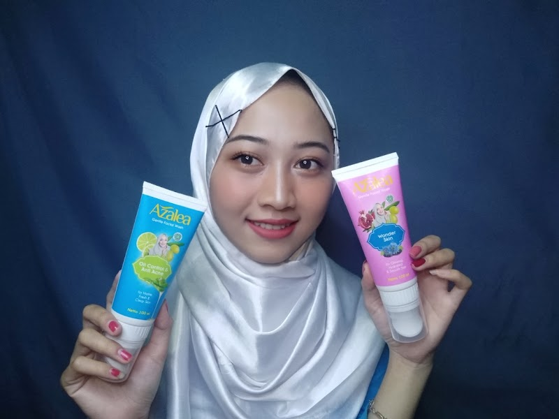 [REVIEW] AZALEA GENTLE FACIAL WASH (WONDER SKIN & ANTI ACNE & OIL CONTROL)