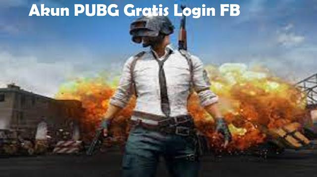 Akun PUBG Gratis Login FB