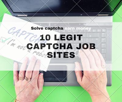 10 legit captcha job sites