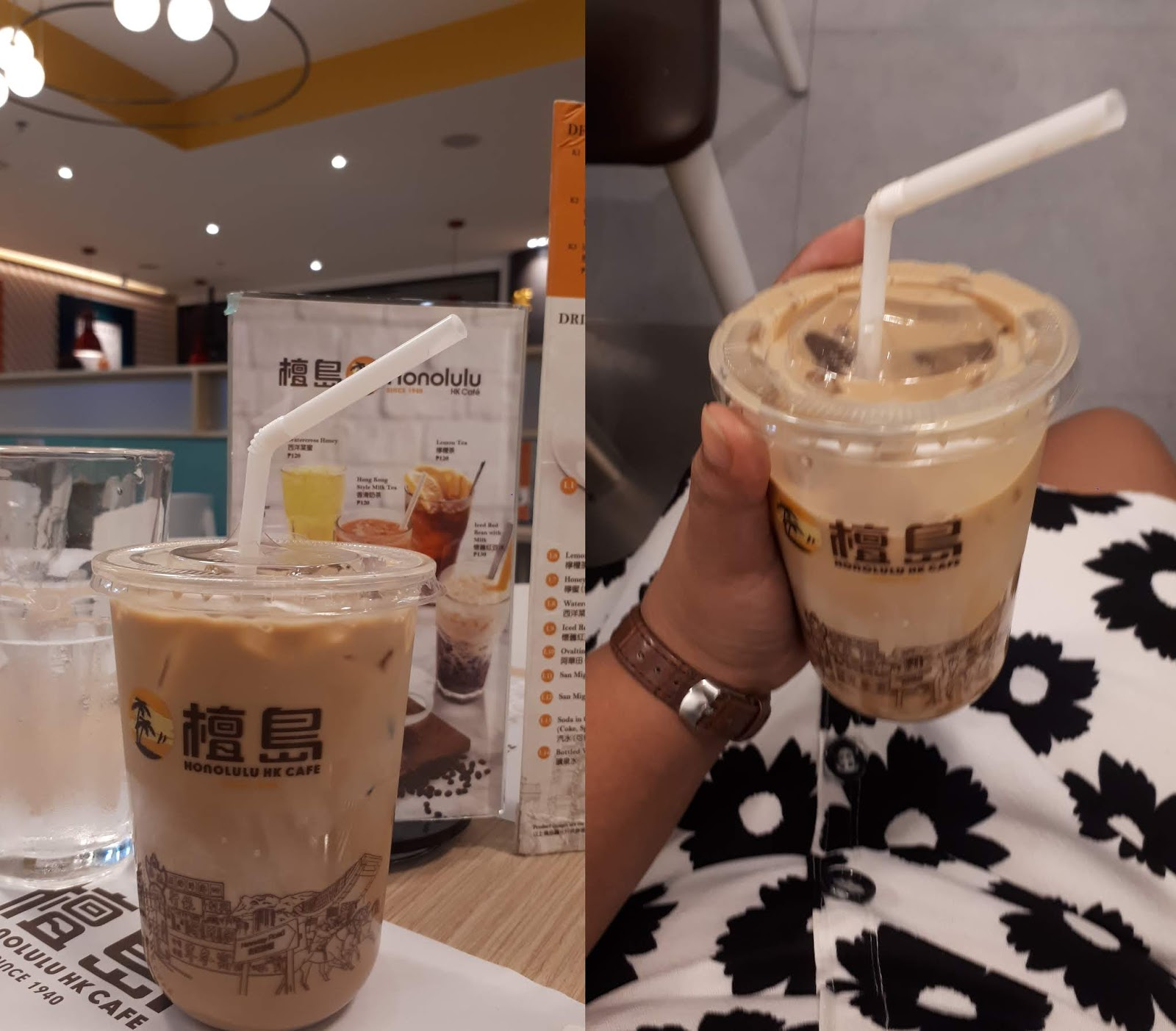 MILK TEA IN ROBINSONS MAGNOLIA