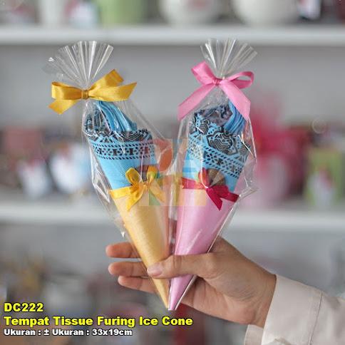 Tempat Tissue Furing Ice Cone