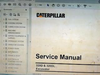 Service Manual CAT 320D CAT 320DL