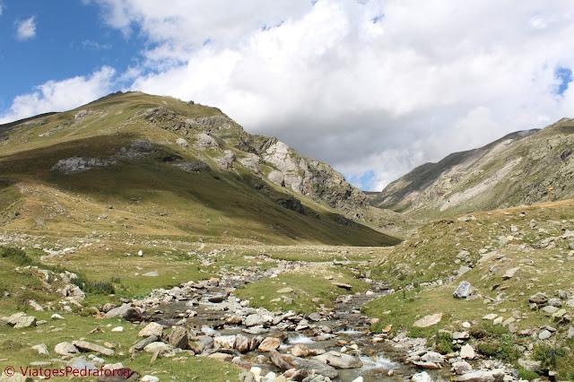Coma de Vaca, Pirineus, senderisme, Parc Natural de les Capçaleres del Ter i del Freser, Catalunya